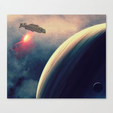 Excursion through time Canvas Print