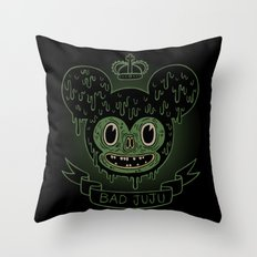 bad juju Throw Pillow