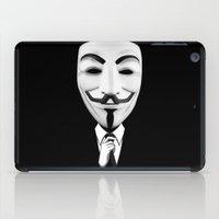 vendetta iPad Cases featuring vendetta by davidmichel