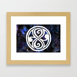 The Seal of Rassilon Framed Art Print