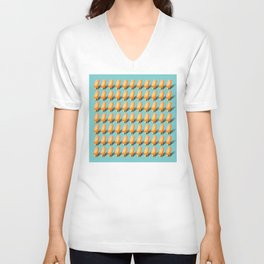77 Melting Ice Creams Unisex V-Neck