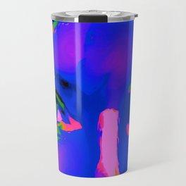 Cobalt Blue Debbie Travel Mug