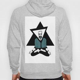 The meditator hipster Hoody