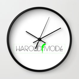 HaroldMode Wall Clock