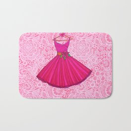 Holiday Dress / Party Lace Bath Mat