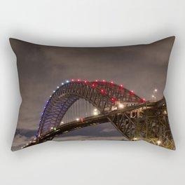 Bayonne Bridge Rectangular Pillow
