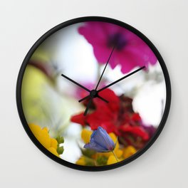 Colors of Nature Wall Clock