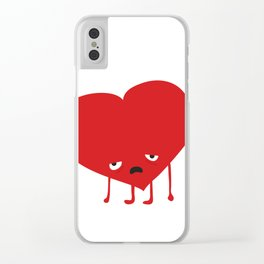 HAPPY VALENTINE Clear iPhone Case
