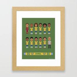 BR 2014 Framed Art Print