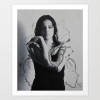 intervention 8 Art Print