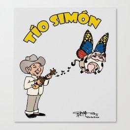 Tio Simon Canvas Print
