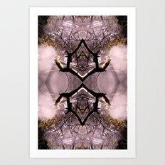 Evanesce 3 Art Print