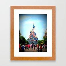 Disneyland Castle Framed Art Print