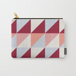 Trio (maroon) Carry-All Pouch
