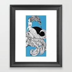 Her pet Framed Art Print