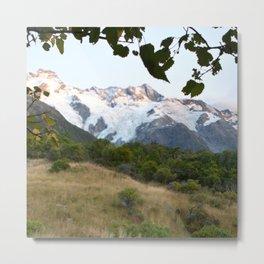 New Zealand Mount Cook Metal Print