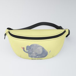 Elephant never forgets Fanny Pack