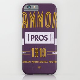 Hammond Pros iPhone Case