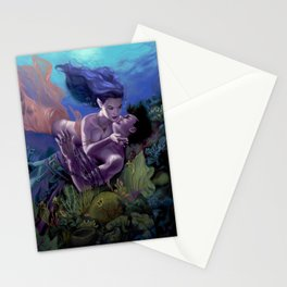 Saving Kiss Stationery Cards
