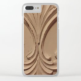 1900s style Clear iPhone Case