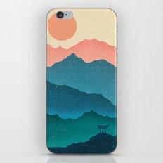 Meditating Samurai iPhone & iPod Skin
