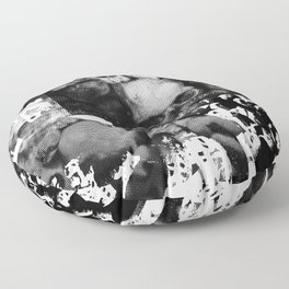CATACOMBS - DIGITAL TEST PRINT 025 Floor Pillow