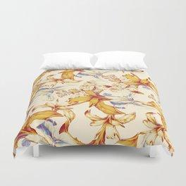 Irisses & Coriander Duvet Cover