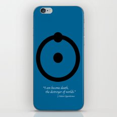 Dr, Manhattan iPhone & iPod Skin
