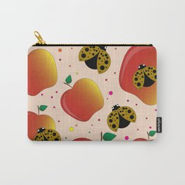 Apples and ladybugs Carry-All Pouch