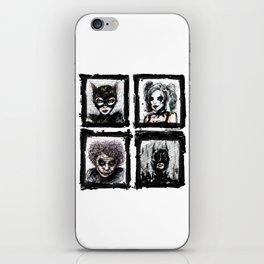 Heroes or Villians? iPhone Skin
