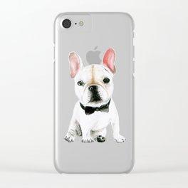 Little Gentleman Clear iPhone Case