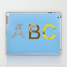 mAY BEE SEE be with you! (blue) Laptop & iPad Skin