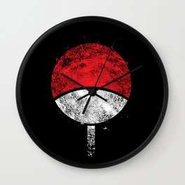clan uchiha Wall Clock