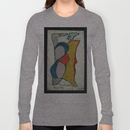 Personages Passing Long Sleeve T-shirt