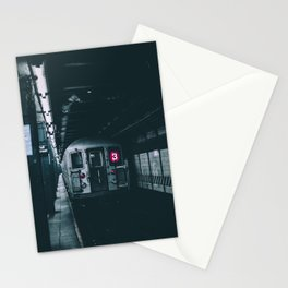 New York Subway Train Stationery Cards