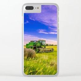 Kansas Combine Clear iPhone Case
