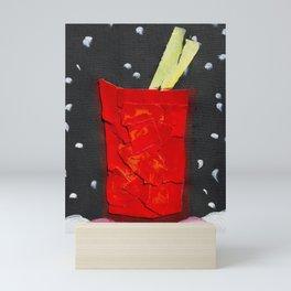 Very Merry Bloody Mary Mini Art Print