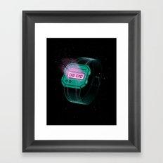 End of Time Framed Art Print