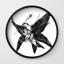 House Martin Wall Clock
