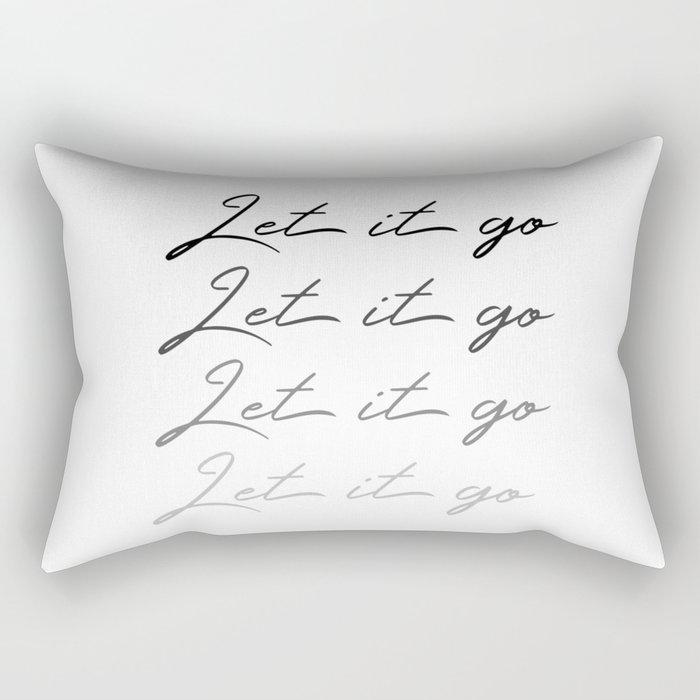 Make Like Elsa & Let It Go Rectangular Pillow