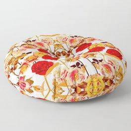 Bright  Summer Floor Pillow