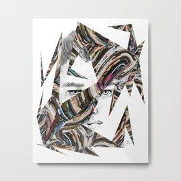 Origami Guy Metal Print