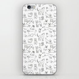 Dogs fun iPhone Skin