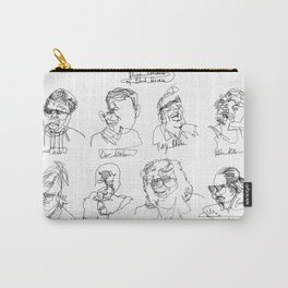Blind Contours, Blind Heroes Carry-All Pouch
