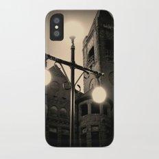 Preston Castle ~ twilight exterior iPhone X Slim Case