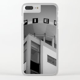 Clarence Pier Vintage Style Clear iPhone Case
