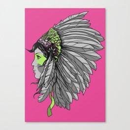 Warrior 3 Canvas Print