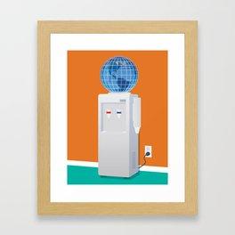 Let Anyone Take A Job Anywhere Framed Art Print