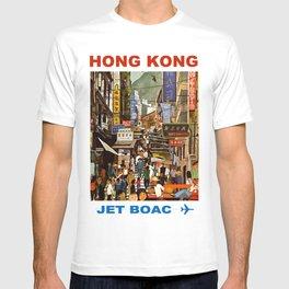 Vintage Hong Kong Travel T-shirt