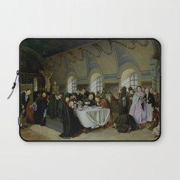 Vasily Perov - Monastic Refectory Laptop Sleeve